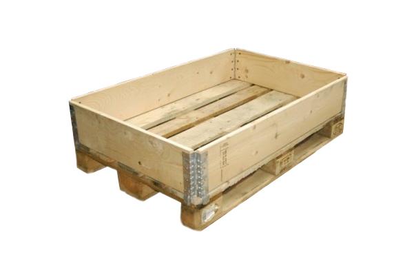 Palettenaufsatzrahmen Aus Holz Green Packaging